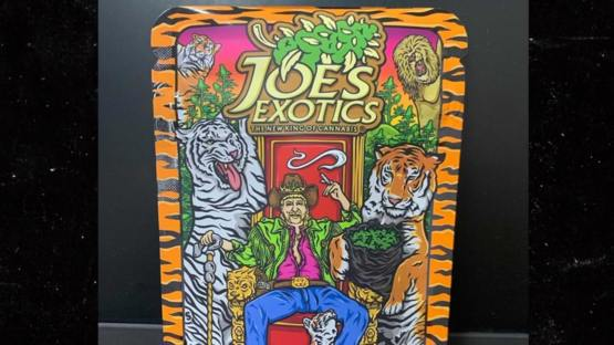 Joe Exotic's Weed Line Packaging Features Tiger Stripes, Pride Flag   #tmz #entertainment
