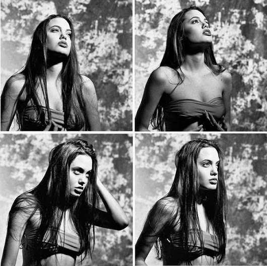 Historical Pics   Angelina Jolie in 1991