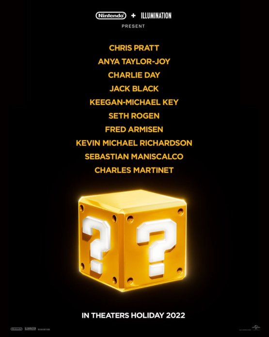What do you think of the #mariomovie casting announcement